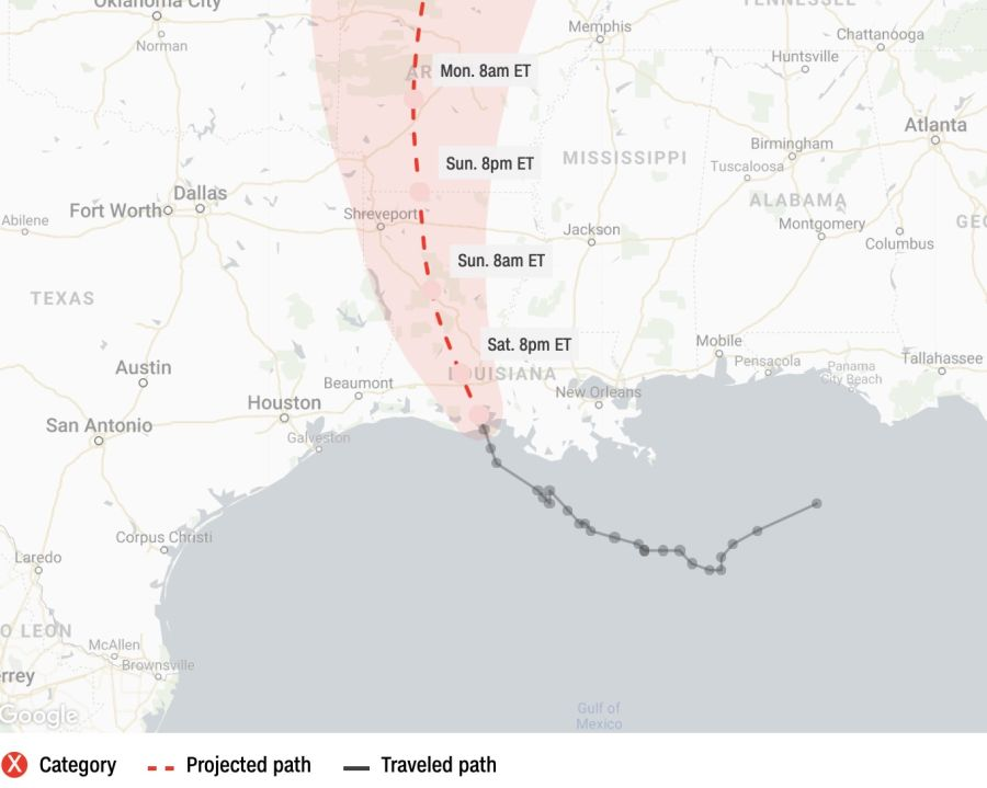 Live updates: Barry makes landfall in Louisiana - CNN