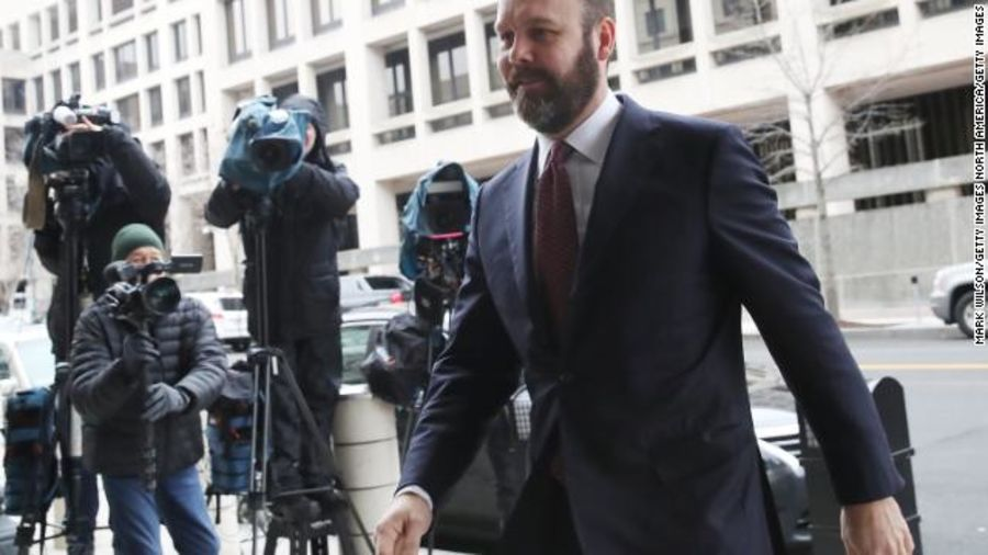 Rick Gates case handed to DC US Atty.