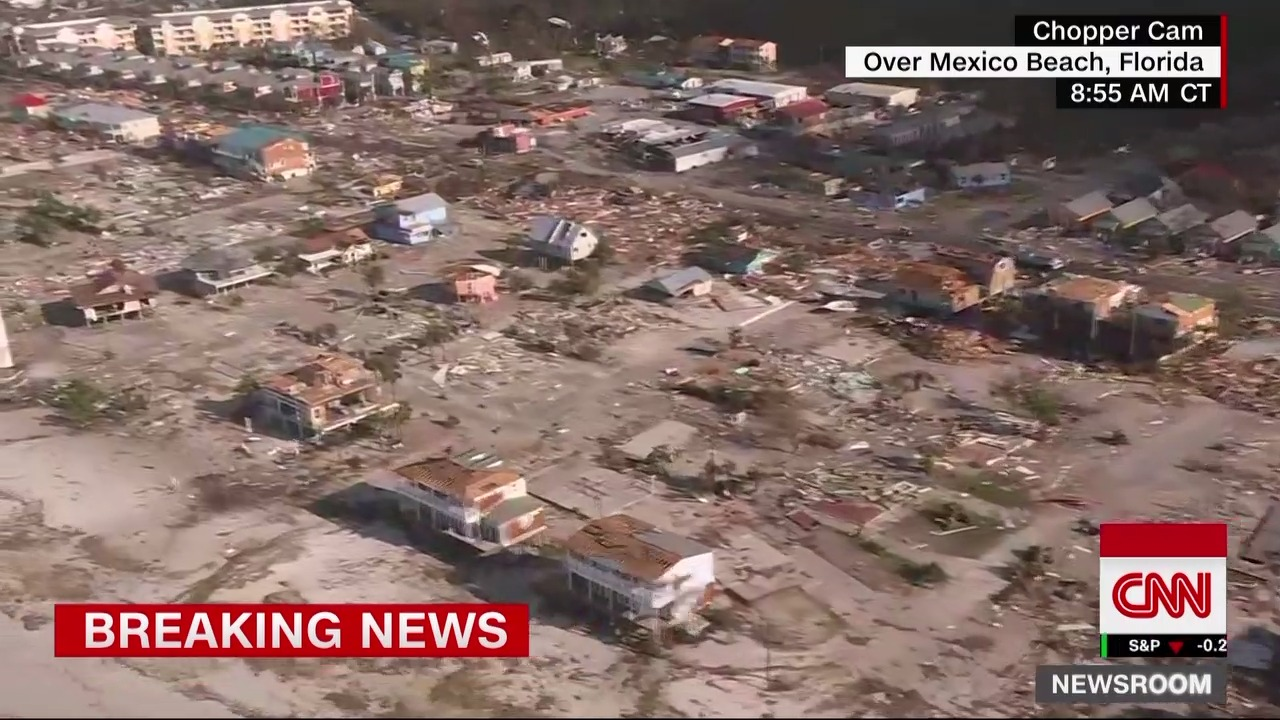 """Mexico Beach """"is gone"""" after taking Michael's direct hit"""