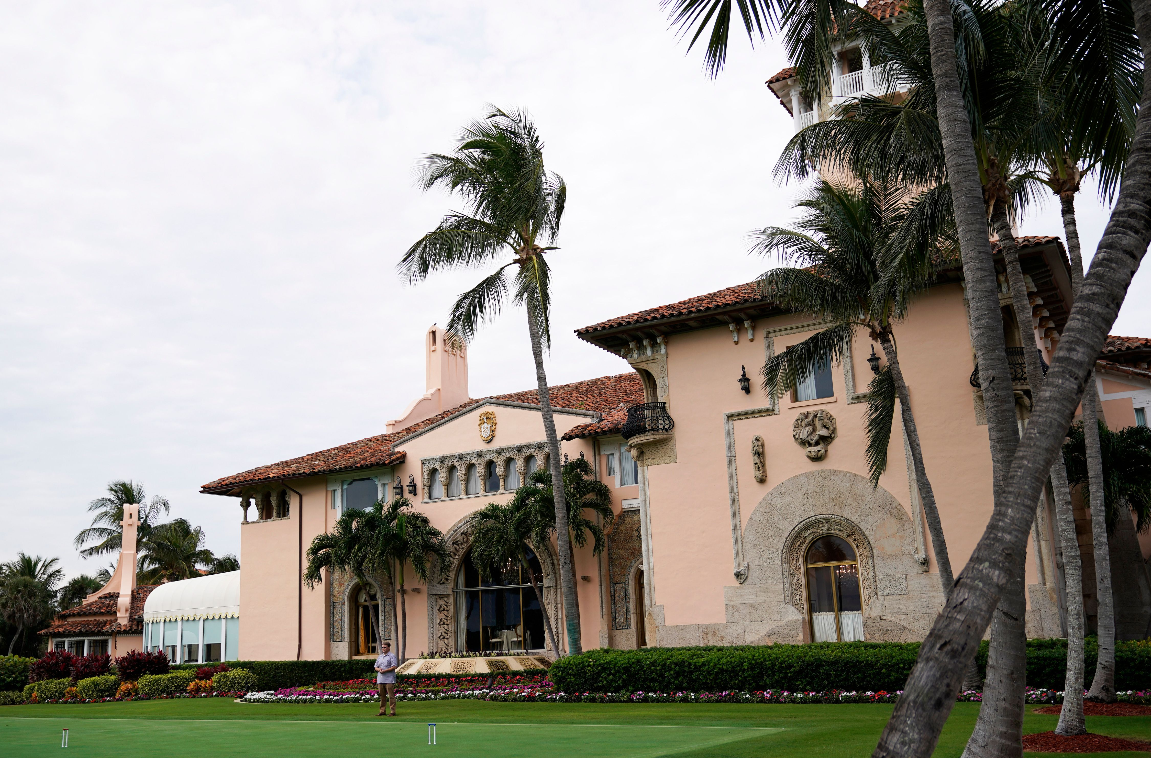 S President Donald Trump's Mar-a-Lago resort in Palm Beach, Florida