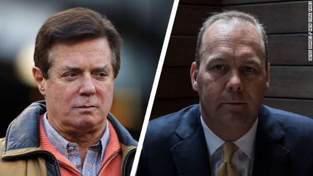Paul Manafort (l.) and Rick Gates