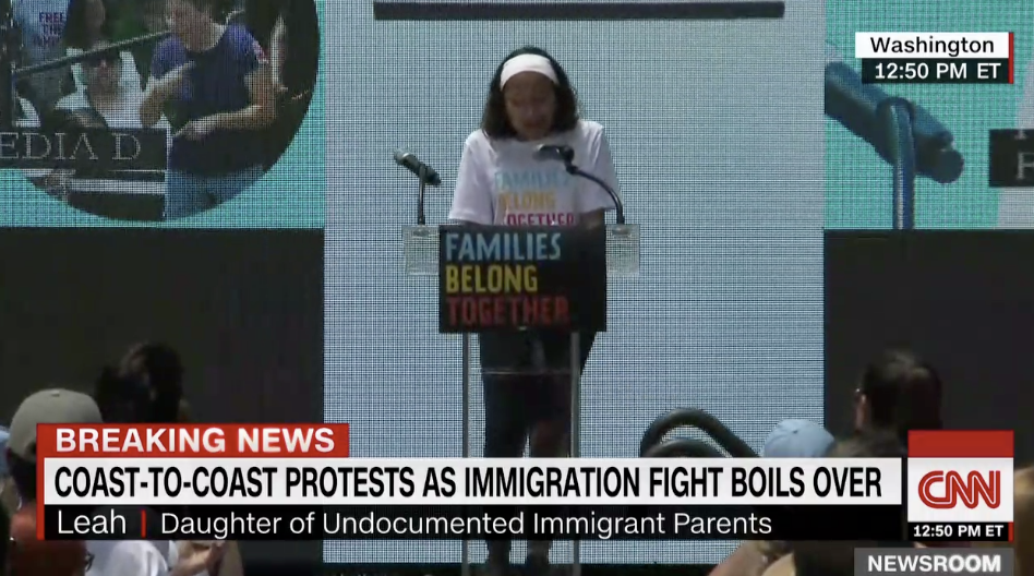 Deportation Constant Fear For >> This 12 Year Old Girl Lives In Constant Fear That Her