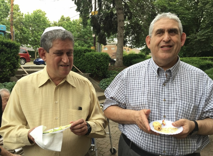 Brothers David Rosenthal (left) and Cecil Rosenthal were killed in the shooting on Saturday.