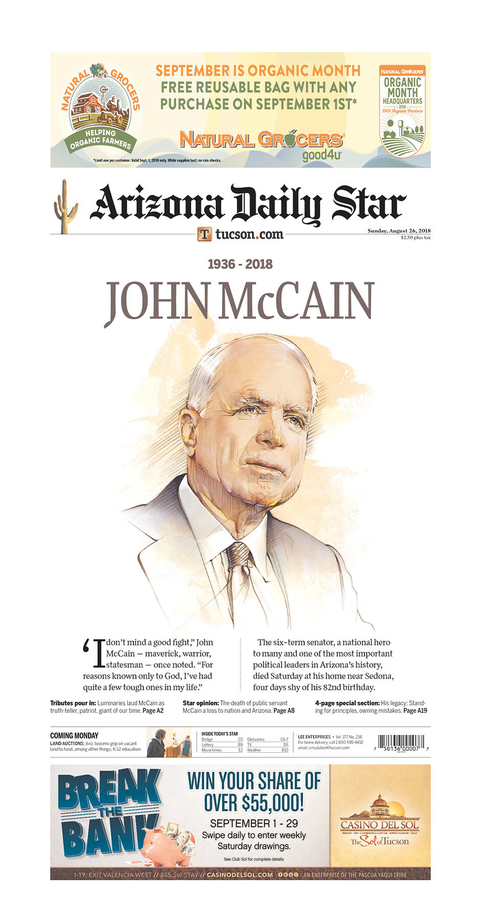 Arizona Daily Star/Newseum