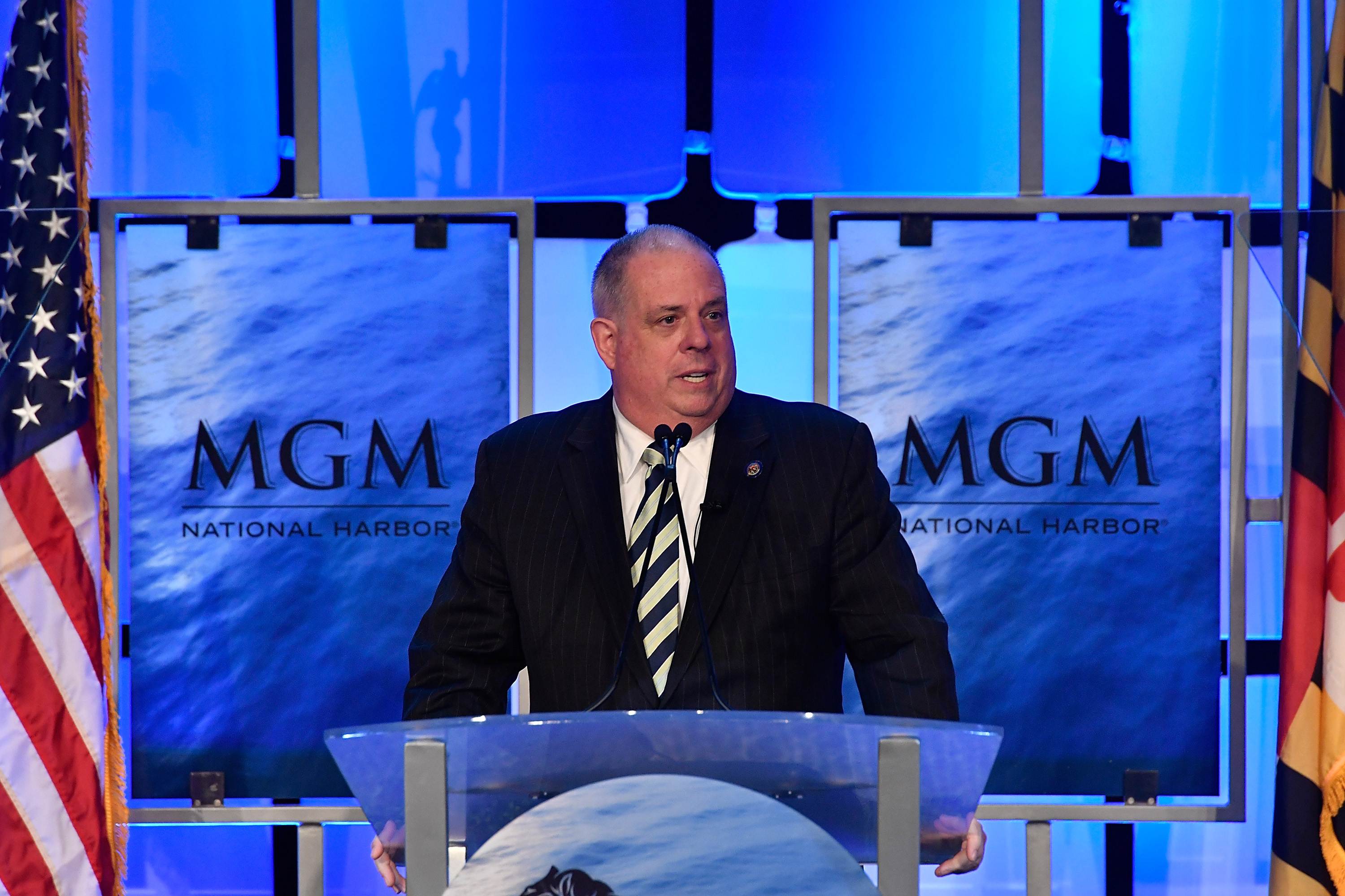 Maryland Gov. Larry Hogan in 2016