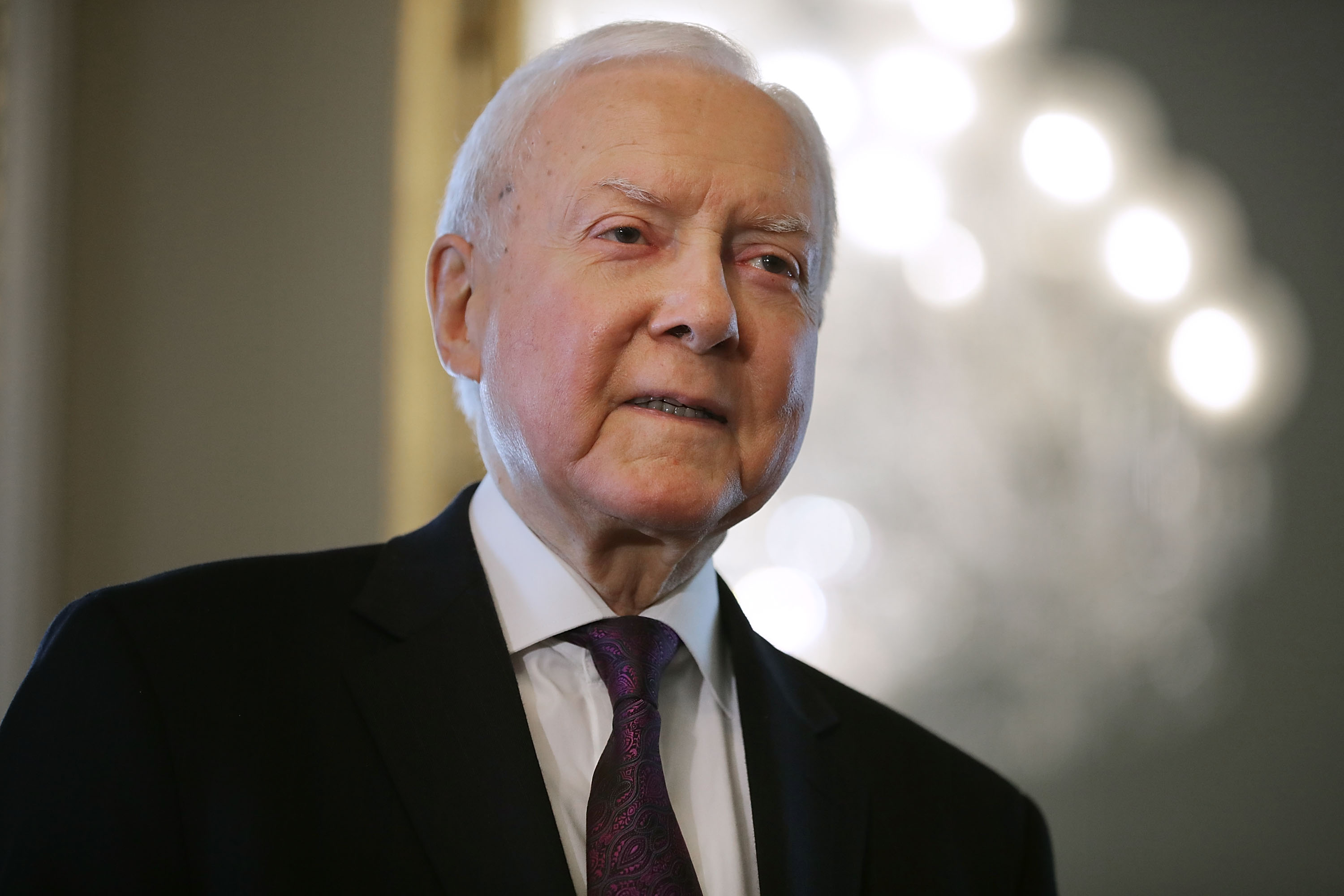 Sen. Orrin Hatch of Utah in July 2018.