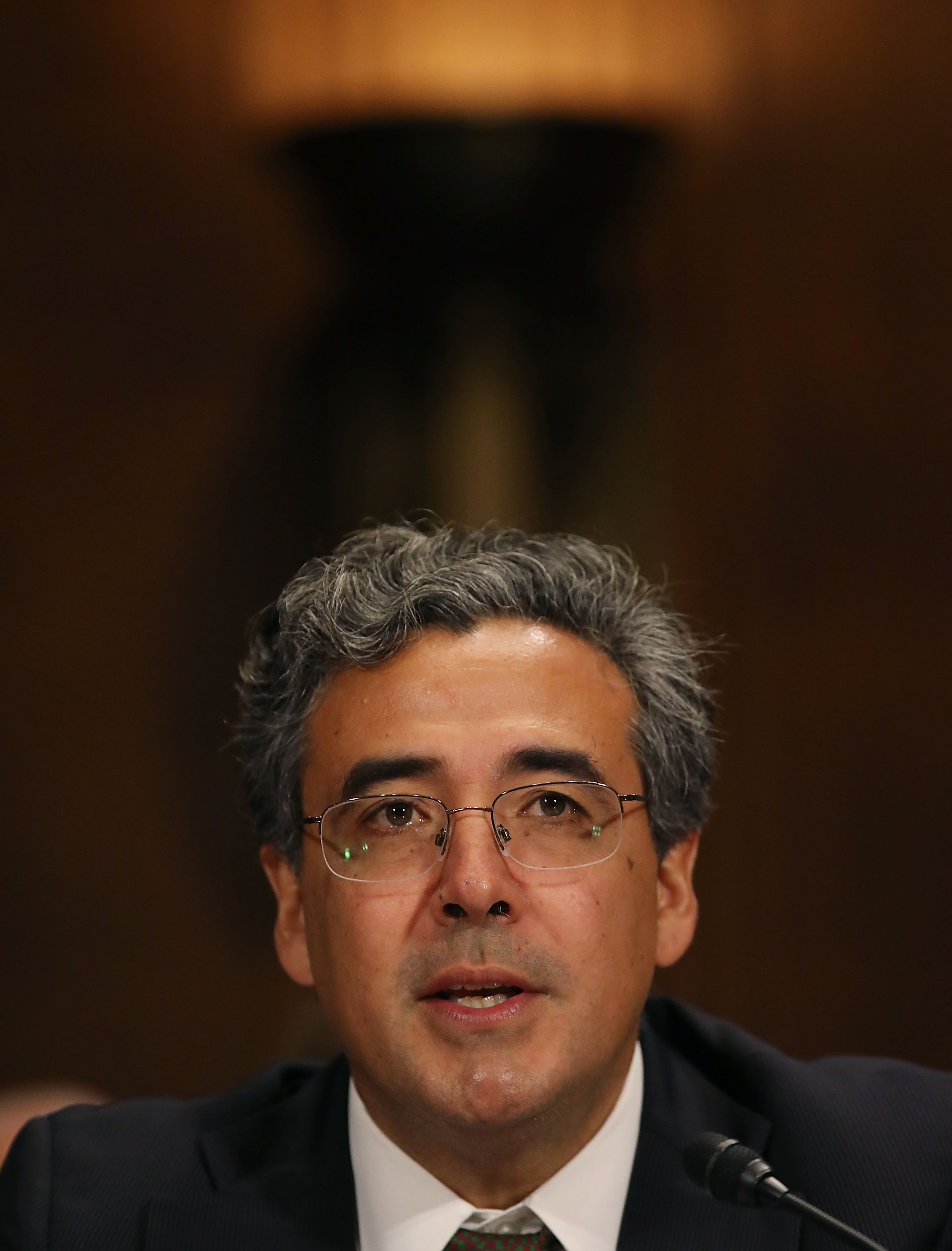 Noel Francisco during his confirmation hearing as solicitor general in May 2017.