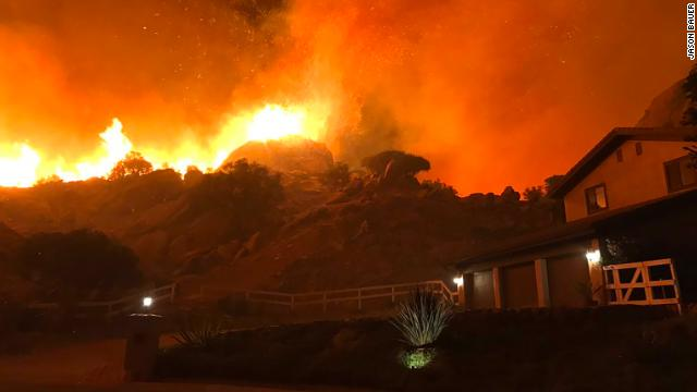 Malibu declares mandatory evacuation