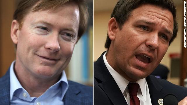 Republicans Adam Putnam and Ron DeSantis are both running for Florida governor.