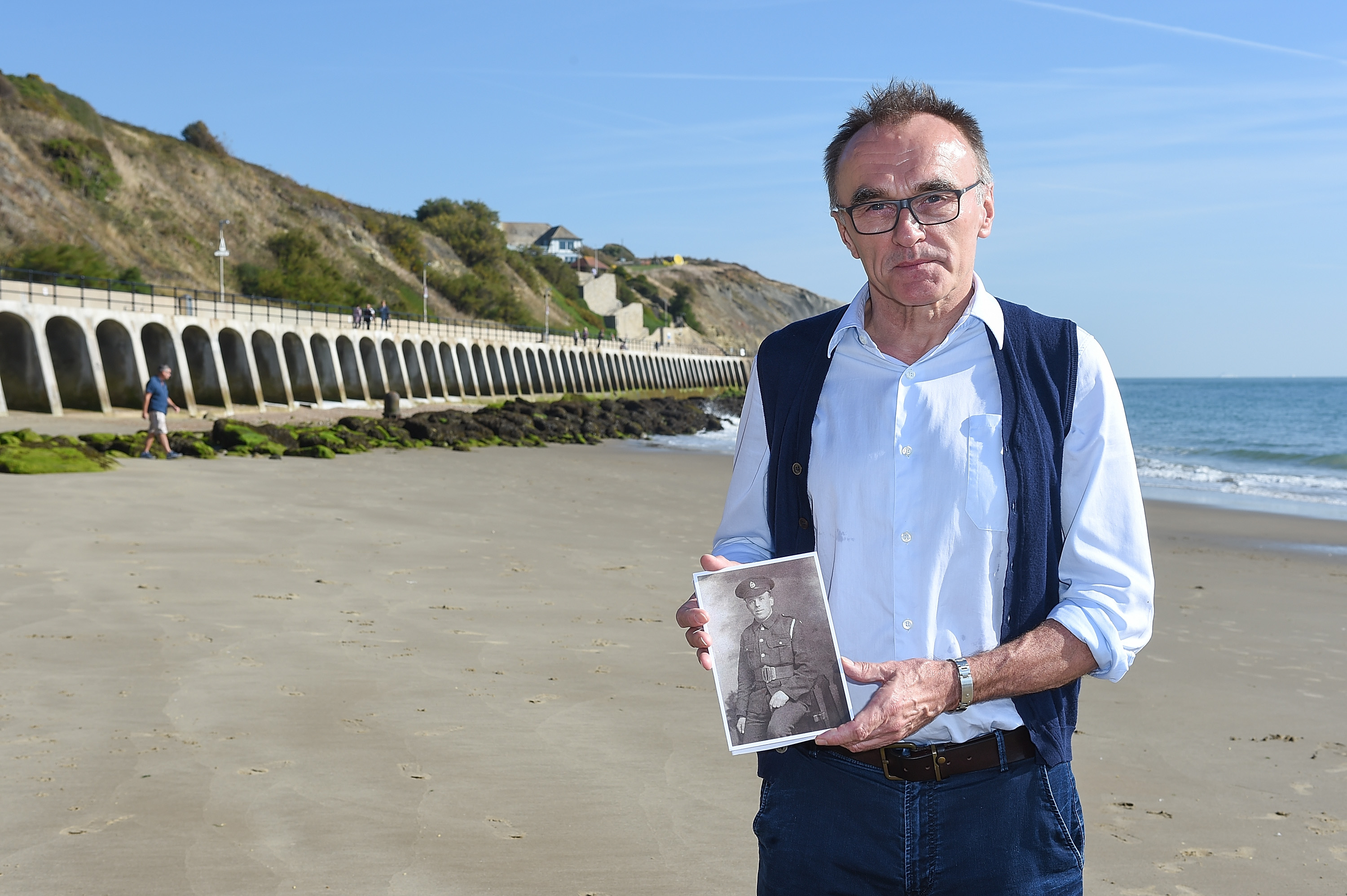 "Oscar-winning British filmmaker Danny Boyle oversaw the project, called ""Pages of the Sea."""