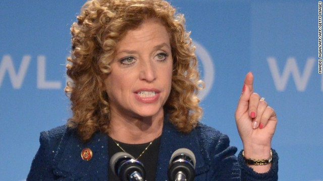 Rep. Debbie Wasserman Schultz, Democrat of Florida, was the Democratic National Committee Chair from 2011 to 2016.