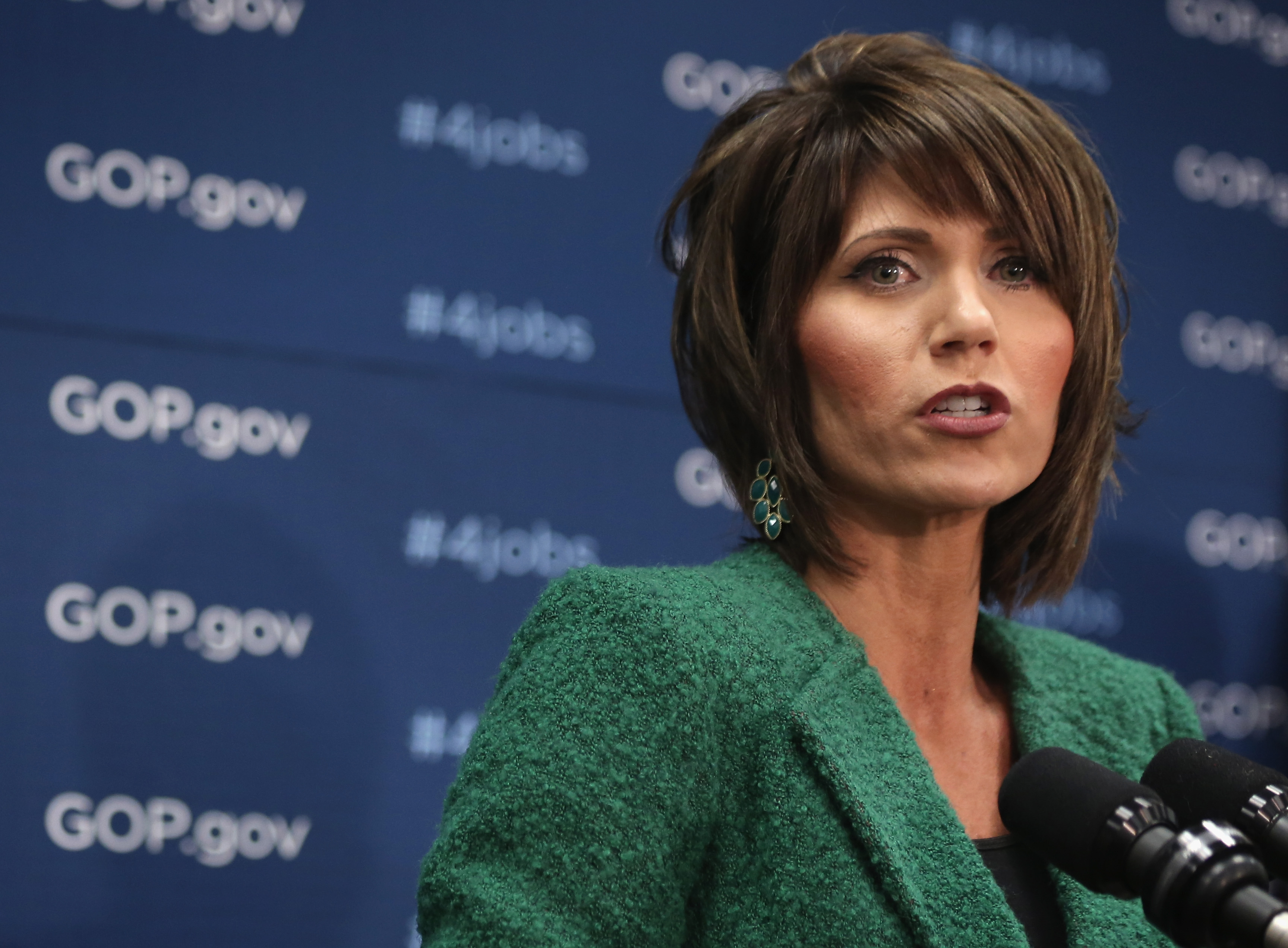 Republican Rep. Kristi Noem won the South Dakota primary and is now likely to become the state's first female governor.