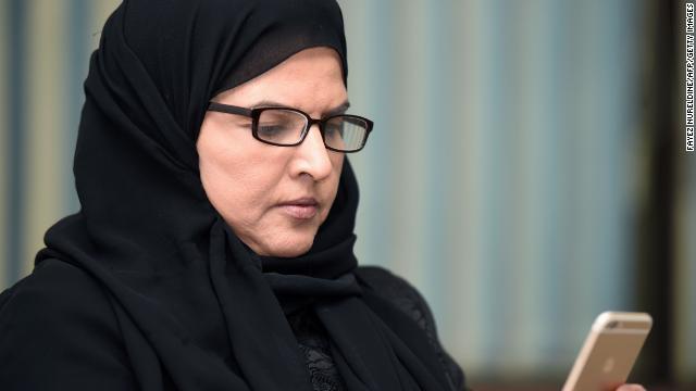 Saudi campaigner, Aziza al-Yousef, pictured in Riyadh, 2016
