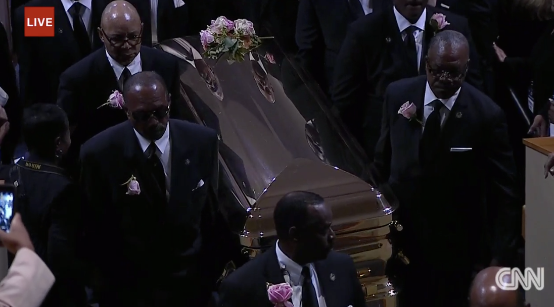 Live updates: Aretha Franklin remembered at her funeral - CNN