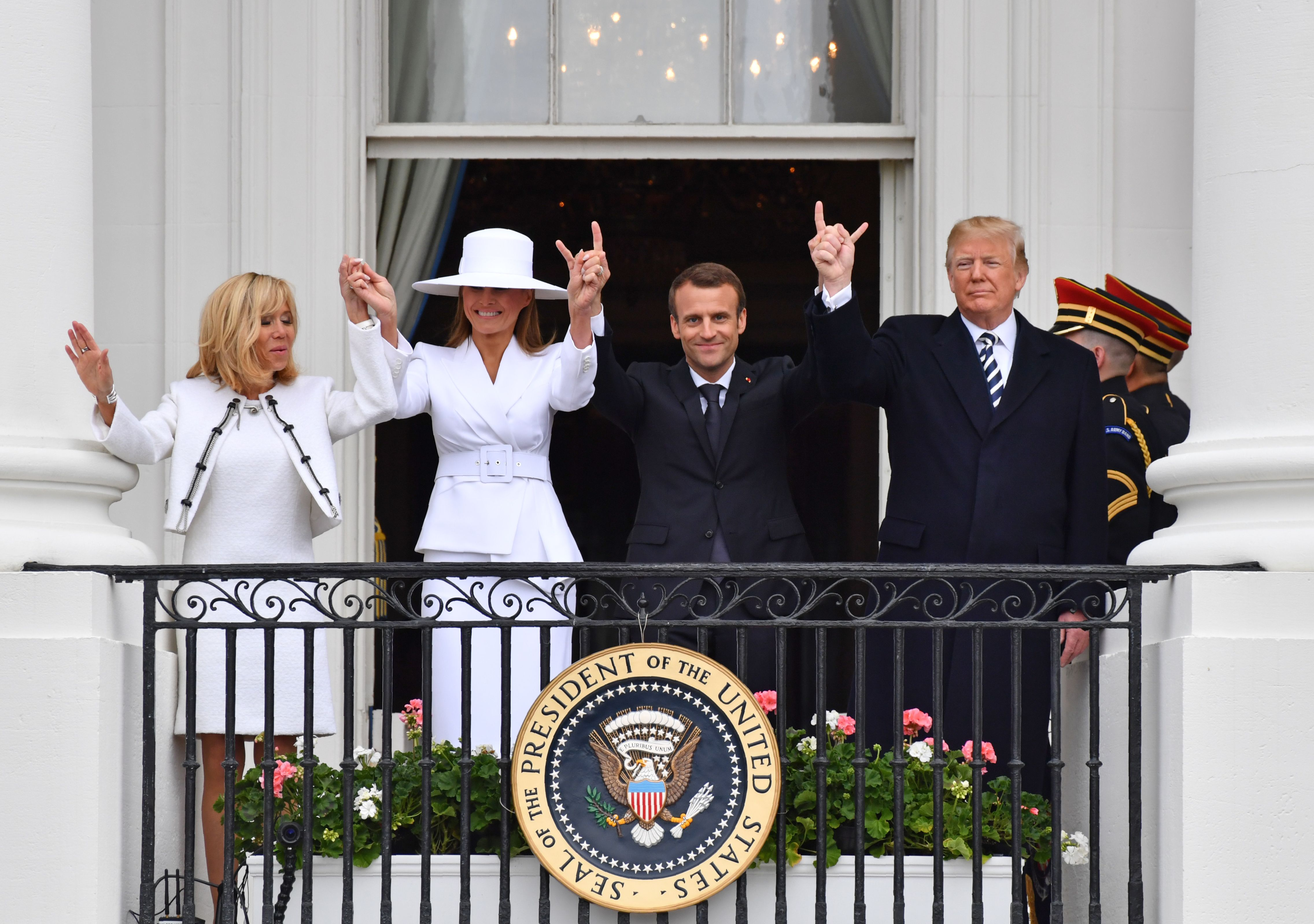 Trump Hosts France S President Macron The Higlights