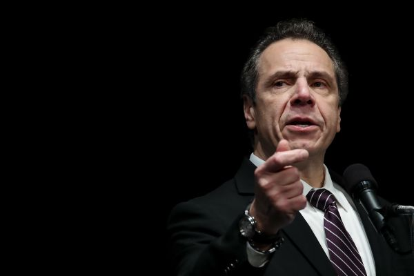New York Gov. Andrew Cuomo is one of six governors who wrote the letter