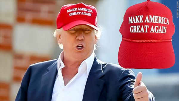 ab4ee892bc750 Why Trump s 2020 Make America Great Again hats might be green