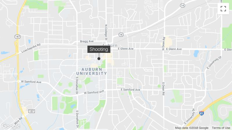Killed in Shooting Near Auburn University Campus