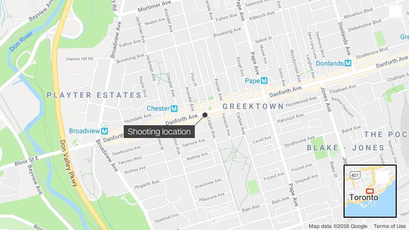 Toronto Danforth Shooter Identified