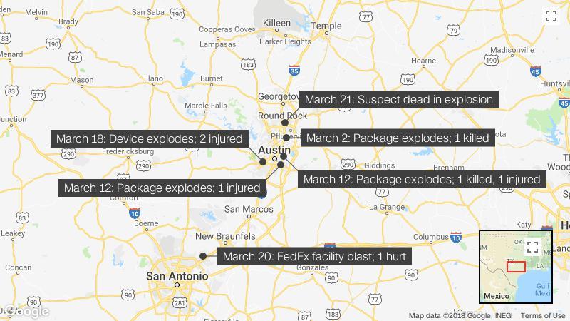 Austin bombings: Killer left confession, police say - CNN