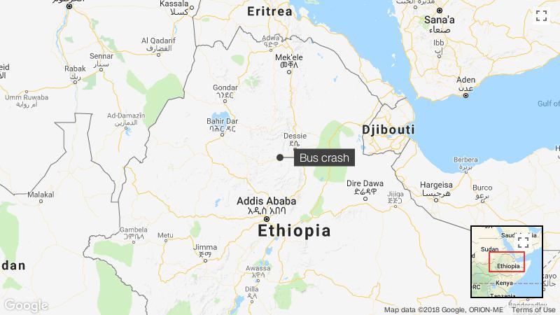 Ethiopia bus crash: At least 38 killed - CNN