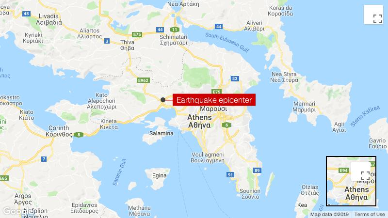 Athens: strong earthquake shakes Greek capital - CNN