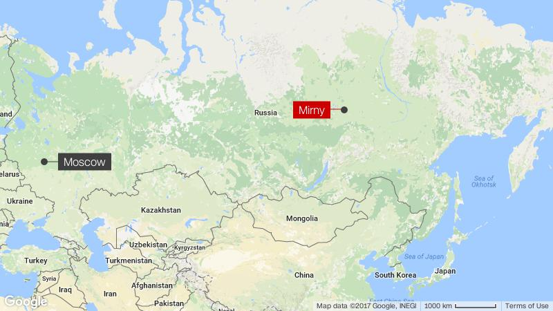Russia Diamond Mine 16 Missing After Flood In Mirny Cnn