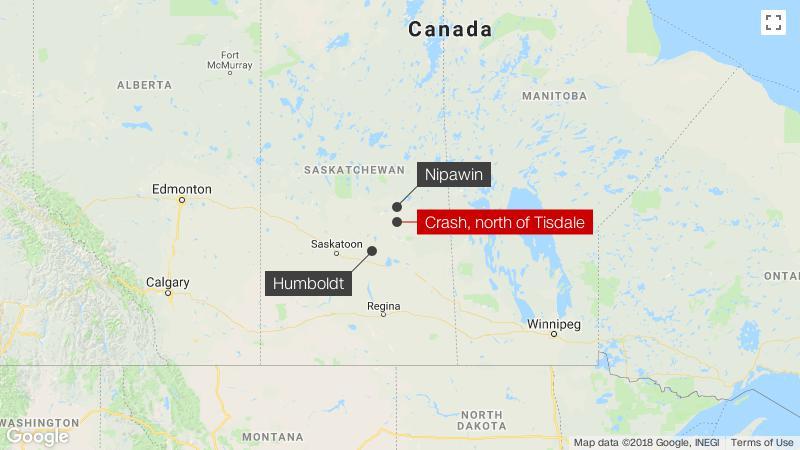 Canada bus crash At least 15 killed in accident involving junior