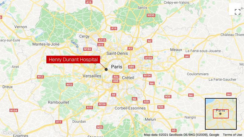One dead, one injured in shooting outside Paris hospital thumbnail