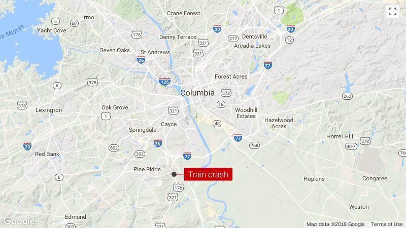 Amtrak Nc Map.Amtrak Train Crash 2 Killed In South Carolina Cnn
