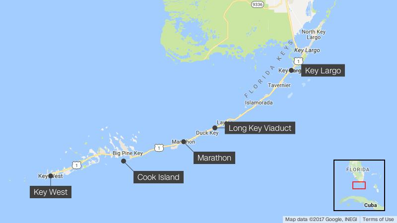 Map Of Florida And Florida Keys.Irma Brought Out The Truth About The Florida Keys Cnn