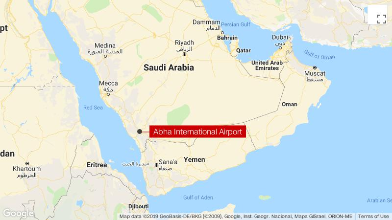 Abha International Airport: Missile hits arrivals hall ... on show map of st lucia, show map of east africa, show map of oceans, show map of middle east countries, show map of el salvador, show map of greenland, show map of central asia, show map of burundi, show map of yemen, show map of lebanon, show map of mount everest, show map of fiji, show map of macedonia, show map of zambia, show map of canadian provinces, show map of finland, show map of windward islands, show map of pakistan, show map of central europe, show map of south vietnam,