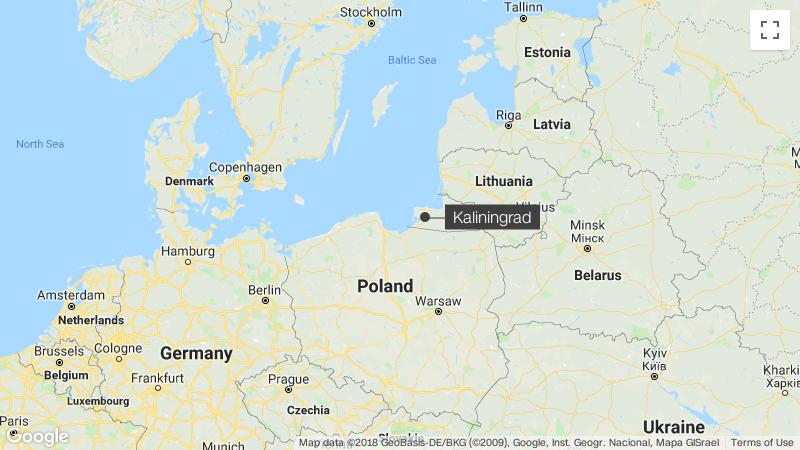 Kaliningrad images suggest Russian military buildup - CNN on kaliningrad map with cities, kaliningrad port map, kaliningrad map of northern europe, city of kaliningrad russia map,