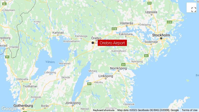 Swedish plane crash kills eight skydivers and pilot thumbnail