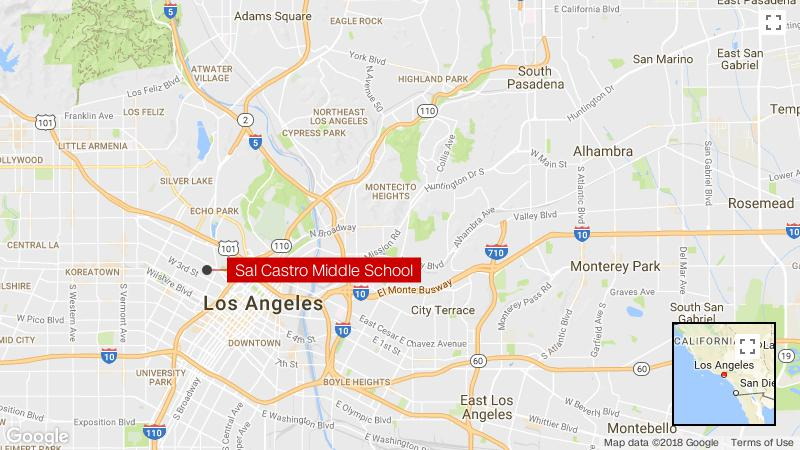 Los Angeles school shooting; 12-year-old girl in custody, 4 wounded ...