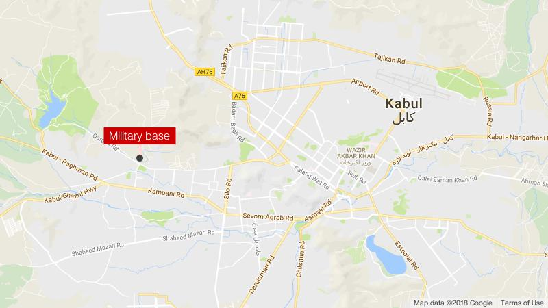 kabul military base attack caps week of bloodshed cnn