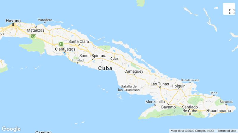 In Cuba on a wet road overturned a bus, killing 7 people