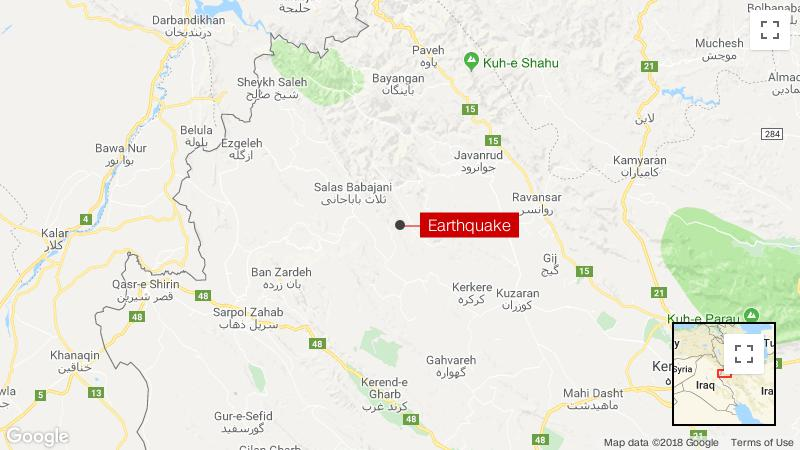 Dozens injured in 6.0 quake in western Iran