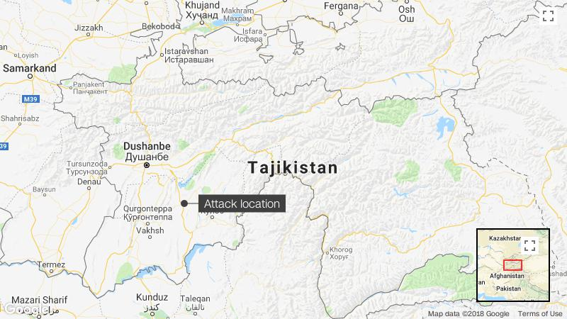 Islamic State claims attack on tourists in Tajikistan