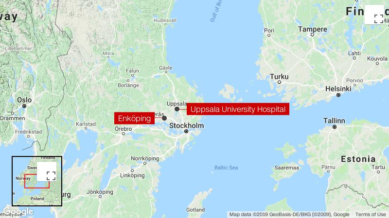 Suspected Ebola case being investigated by Swedish hospital