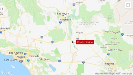 Map Of Arizona California Border.Colorado River Accident 3 People Missing And Several Injured After