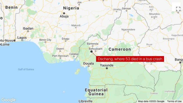 53 死于喀麦隆西部公交车祸