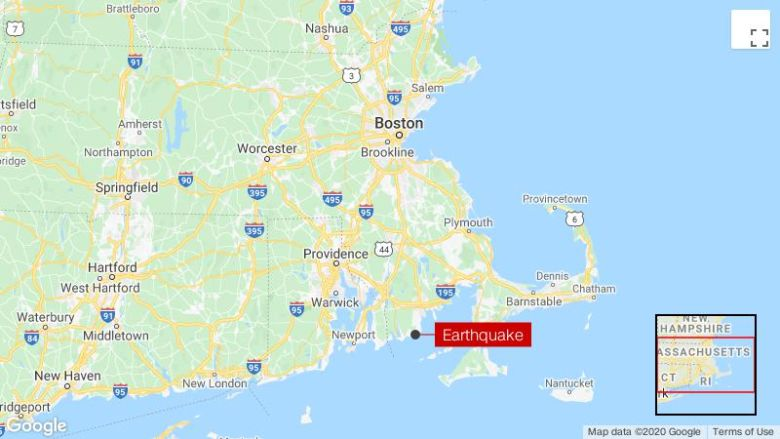 4.0 magnitude earthquake strikes near Bliss Corner, Massachusetts, USGS says