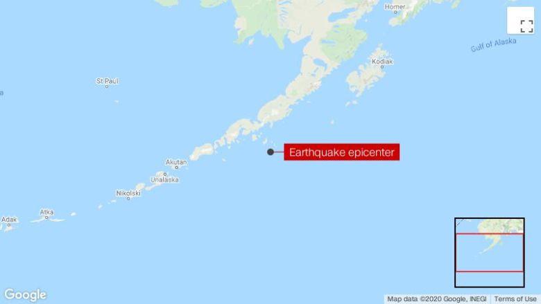 Allarme tsunami emesso dopo il terremoto vicino all'Alaska