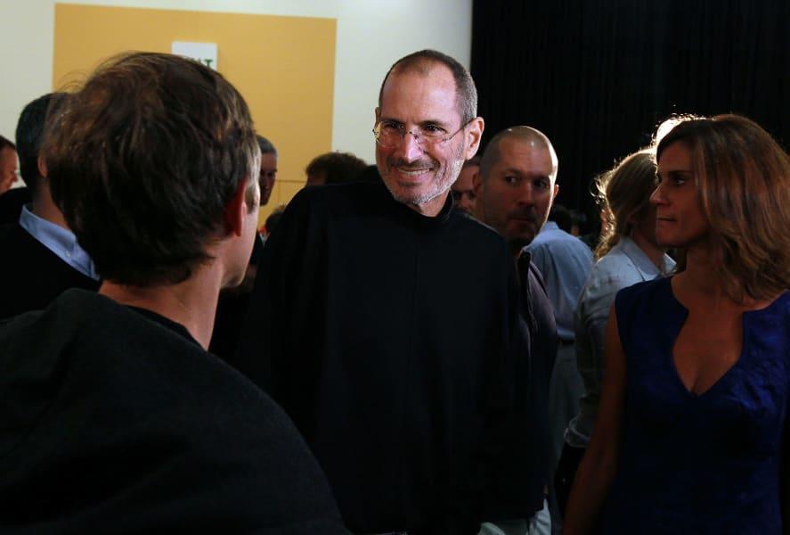 Steve Jobs offstage WWD conference