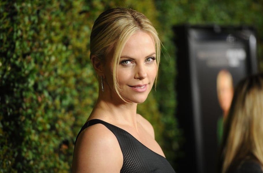 charlize theron trash project