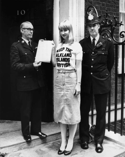 falklands UK petition