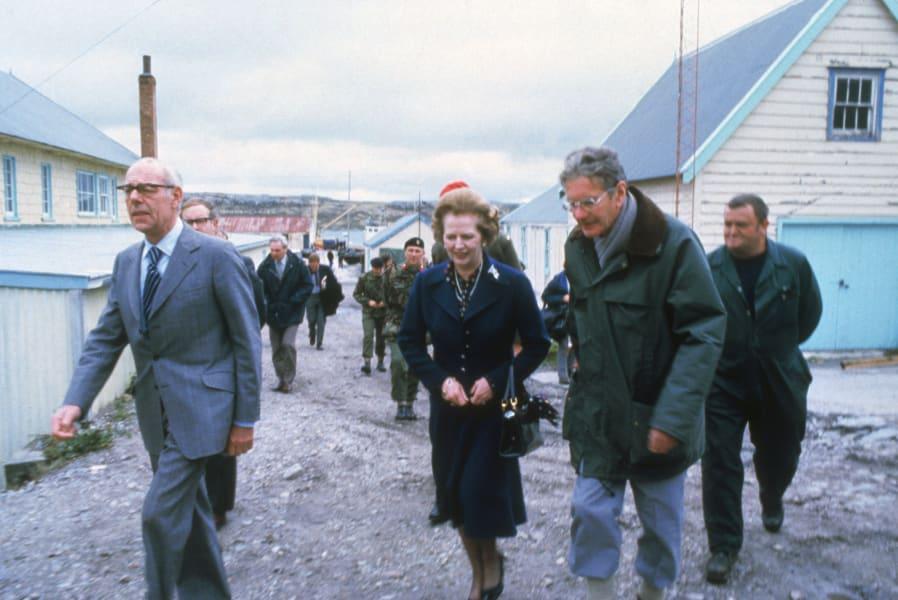 UK Falklands Thatcher