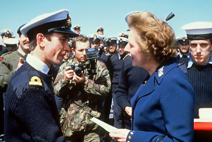 UK Falklands Thatcher 2