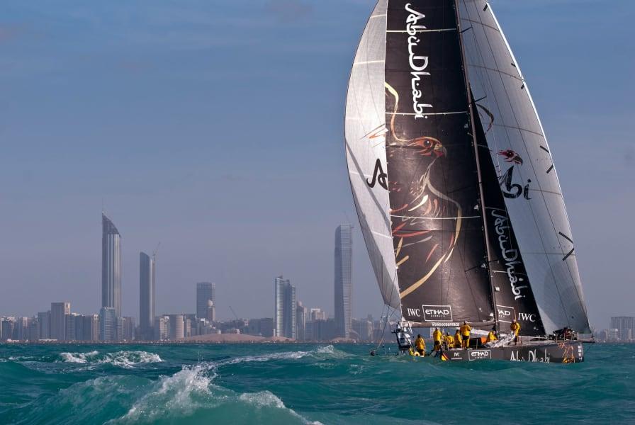 Volvo Ocean Yacht race Abu Dhabi
